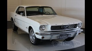 Ford Mustang Coupe V8 1966 -VIDEO- www.ERclassics.com