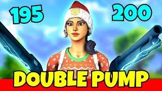 i used double pump with the new shotgun update... (new meta again?)