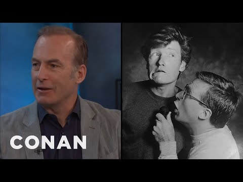 Bob Odenkirk & Conan Were An Acting Team In The '80s   CONAN on TBS