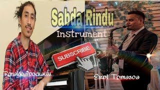 Sabda Rindu Glenn Fredly - Cover piano - Saxaphone Instrument