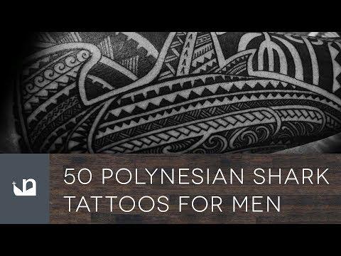 50 Polynesian Shark Tattoos For Men