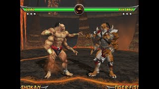 Mortal Kombat Armageddon GORO - (VERY HARD) - (PS2)【TAS】