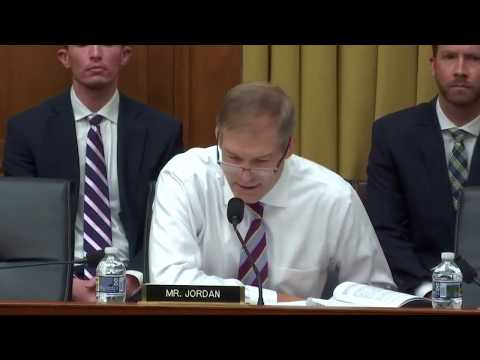 Jordan Calls out Witness for Claiming Russia Collusion