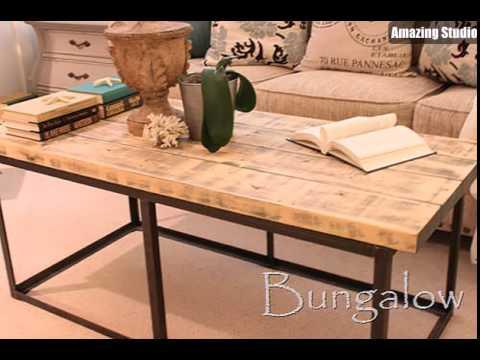 Restoration Hardware Coffee Table DIY Knockoff