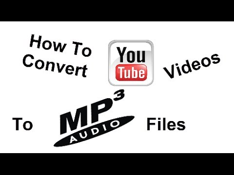 How To Convert YOUTUBE Videos To MP3 Files