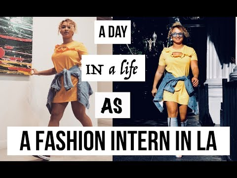 A DAY IN A LIFE AS A FASHION INTERN IN LOS ANGELES