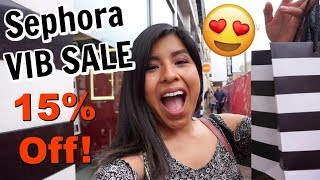 Come Shop With Me: SEPHORA VIB SALE 2018 + Sephora VIB Sale Haul