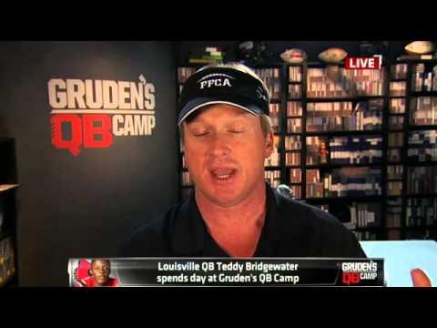 Gruden on QB Teddy Bridgewater