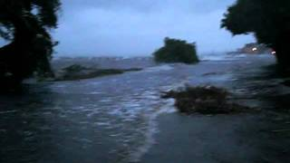 hurricane irene storm surge flash flood duck obx 2