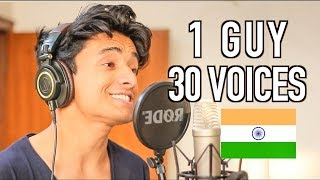 1 GUY 30 VOICES (Indian Edition)