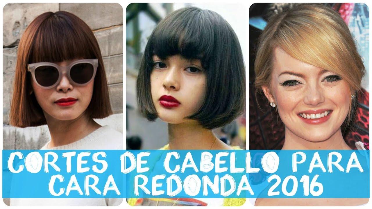 corte de pelo mujer 2016 cara redonda