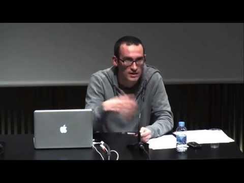 """Walter Benjamin leído por César Rendueles en el curso """"Biblioteca abierta"""""""