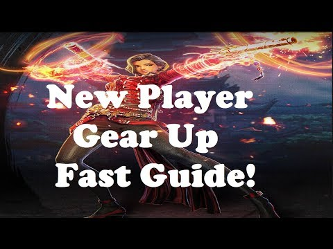 Blade & Soul - How To Gear Up Fast (New Player 55 Guide)