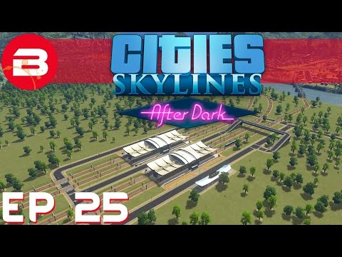 Cities Skylines After Dark - 8 Track Transport Hub - Ep 25 (City Building Gameplay)