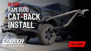CARVEN EXHAUST 2019-2020 RAM 1500 PRODUCT GUIDE