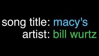 song: macy's