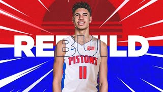 CAN LAMELO BALL SAVE THE PISTONS?