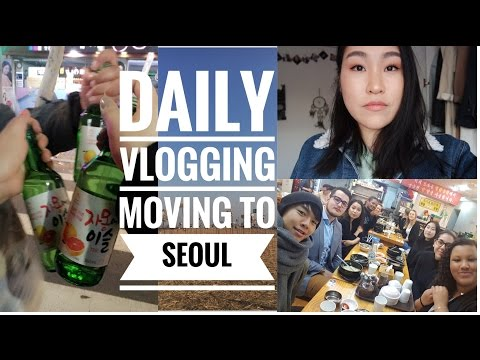MOVING TO SEOUL - HUFS - Daily Vlogging #1