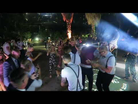 Eden Project Mediterranean Biome SoundONE Cornwall Wedding DJ