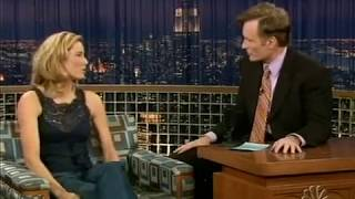 Conan O'Brien 'Tea Leoni 12/16/04
