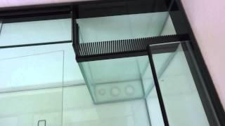 marine aquarium fish tank 72 l x 24 h x 24 w