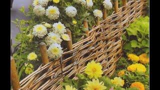 Деревенский стиль на участке возле дачи своими руками: фото и видео