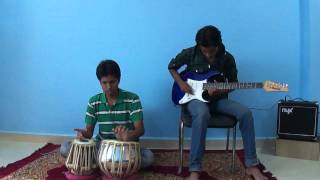 CHALTE CHALTE PAKIZA on GUITAR by Ravindra Dwivedi , Jemini joshi and Diptanshu Pandya
