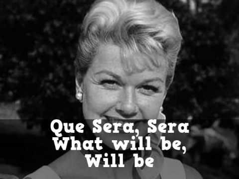 Que Sera, Sera - Karaoke with Lyrics