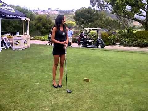 Naked Golf Swing !!! - YouTube