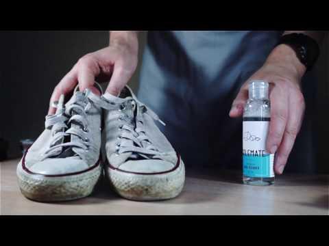 Как почистить белые кеды Converse | Solemate Guides