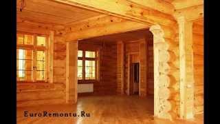 Деревянные двери в деревянном доме