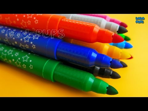 Learn To Count 0 to 20 with Crayola Markers |Numbers 0-20| Learn Colors with Crayola Markers