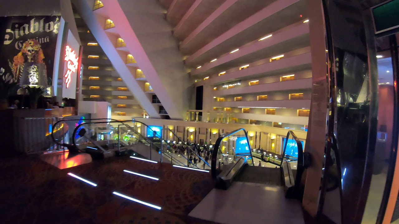 Luxor Hotel Interior - Las Vegas - A look INSIDE Luxor - YouTube