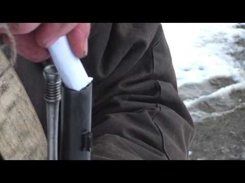 Loading and Firing the Parker Hale P53 Enfield Rifle Musket