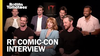The IT Chapter Two Cast Talk Buckets Of Blood And Shared Trauma | Rotten Tomatoes