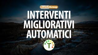 Novità TermiPlan 2019: interventi migliorativi automatici