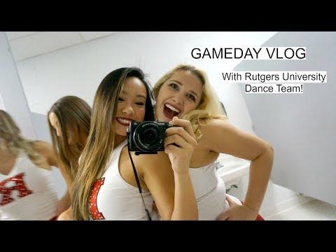 VLOG 5 | Rutgers University Basketball Game Day