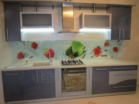 Led подсветка рабочей зоны кухни с использованием светового короба, особенности монтажа.