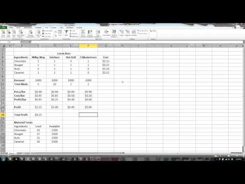 Excel Solver and Goal Seek