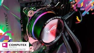 Trên tay bộ đôi tản nhiệt nước ROG RYUO và RYUJIN, có màn hình OLED chế ảnh được luôn!