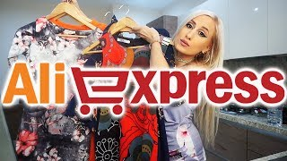 I Spent €100 on AliExpress Clothes | Try-on Haul Fall 2018 #2