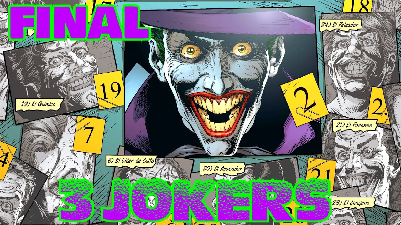 BATMAN : 3 JOKERS - FINAL - alejozaaap