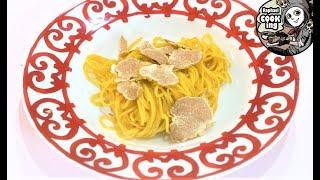 白トリュフのパスタ Pasta with white truffle【ラファエルクッキング Raphael cooking】
