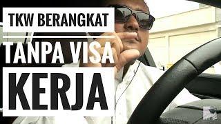 Dua Tkw di berangkatkan ke saudi tanpa visa kerja
