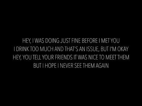 The Chainsmokers - Closer Feat. Halsey (Lyrics)