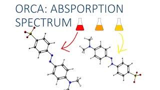 Avogadro with ORCA Tutorial: Absorption Spectrum