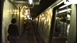 Riding the New York City Subway, 1980s
