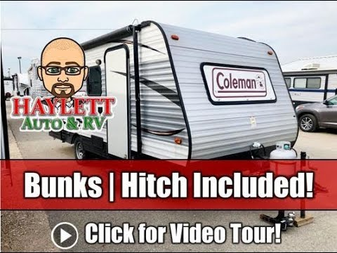 Used 2015 Coleman 17BH Bunkhouse Starter Camper