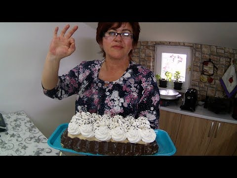 Torta sa napolitankama za 15min
