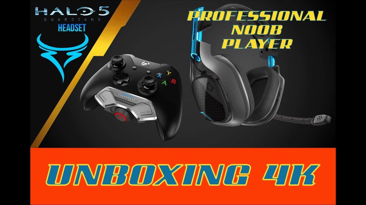 0f66597d5ea Unboxing - Astro A40 + Mixamp M80 EDICION HALO - YouTube